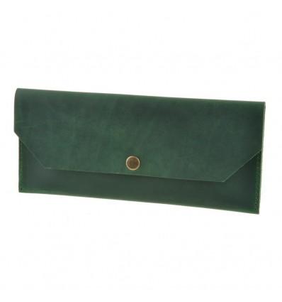 Клатч-конверт Смарагд