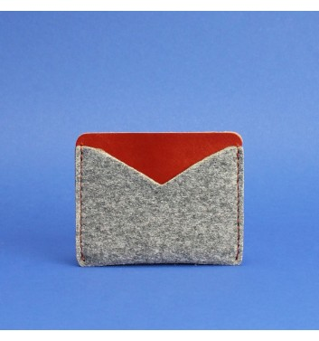 Card Case 5.0 (Slim) Felt Cognac