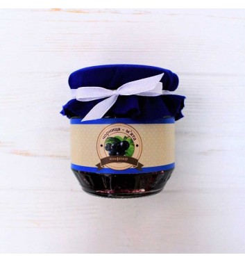 Confiture Blueberries + Mint