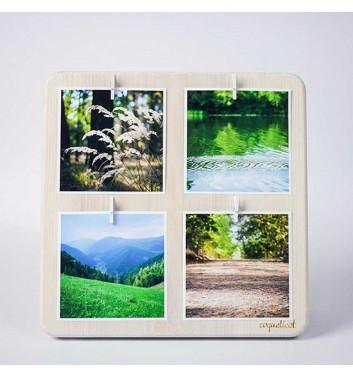"Photo frame ""Square large"" (white)"