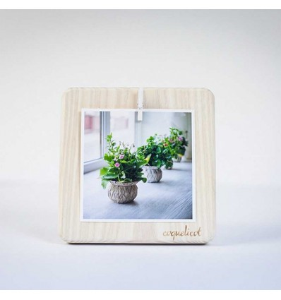 "Photo frame ""square small"" (white)"