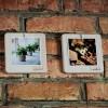 "Photo frame ""square small"" (white)"