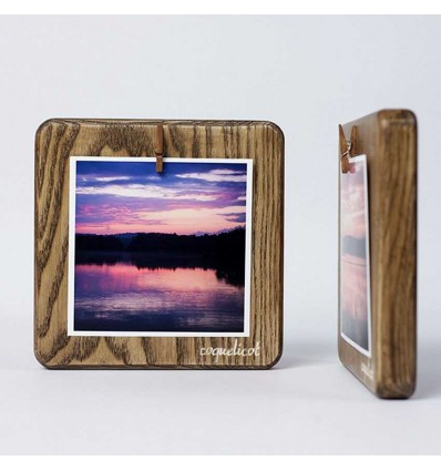 "Photo Frame ""Square Small"" (Brown)"