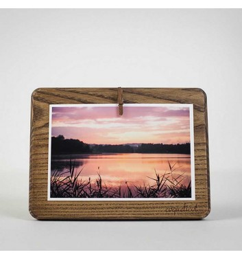 Photo frame Coquelicot rectangular (brown)