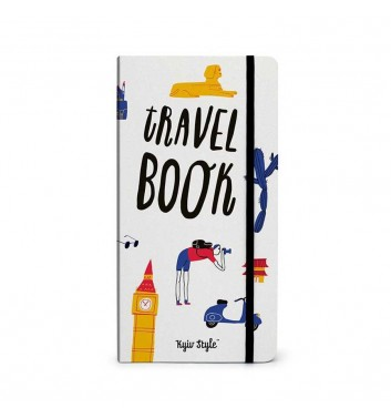 Notebook Travel Book (white)