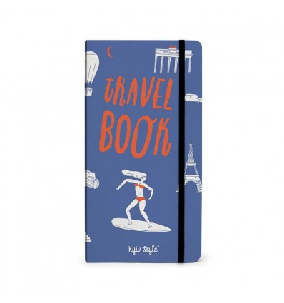 Блокнот Travel Book (синий)
