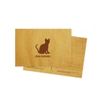 Листівка Mirabella postcards Ти котик