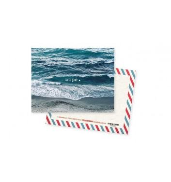 Мини-открытка Mirabella postcards Море