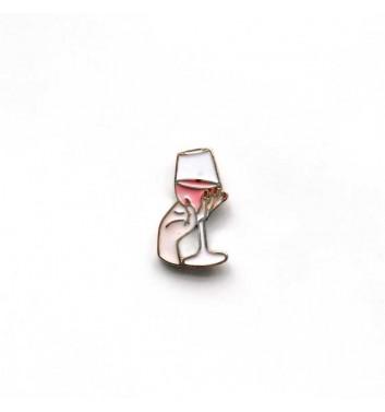 """Pin """"Wineglass"""""""