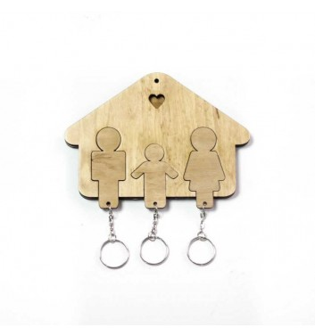 "Housekeeper ""House Family + Boy"" Light"