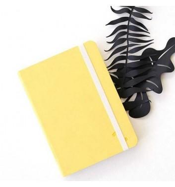 Notebook Zakrtka A6 Yellow