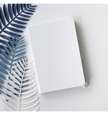 Notebook Zakrtka A6 White
