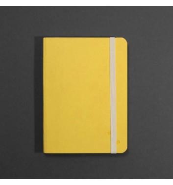 Notebook Zakrtka A5 Yellow