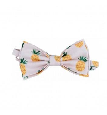 "Bow tie ""White Pineapple"""