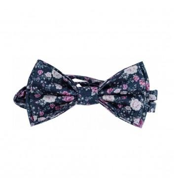 """Bow tie """"Gencyan flowers"""""""
