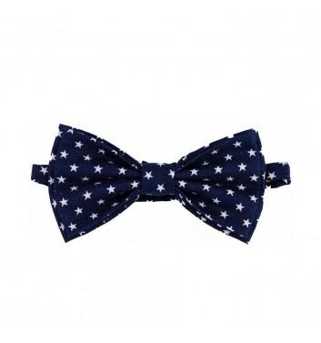 """Bow tie """"Blue dark star"""""""