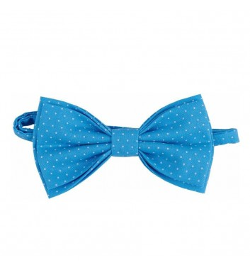 "Bow tie ""Blue light dots"""