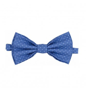 "Bow tie ""Blue dots"""