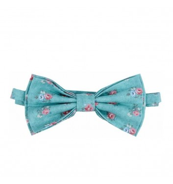 "Bow tie ""Green light flowers"""