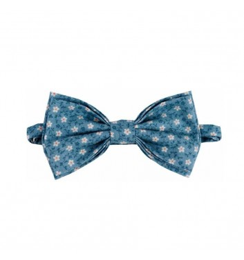 """Bow tie """"Turquoise flowers"""""""