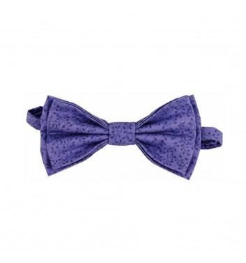 "Bow tie ""Purple leaves"""