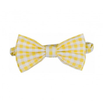 "Bow tie ""Yellow squares"""