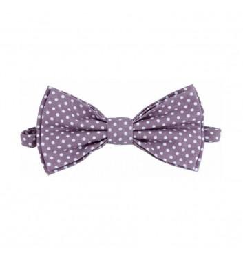 "Bow tie ""Beige dots"""