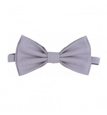 "Bow tie ""Gray light dots"""