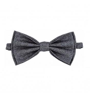 """Bow tie """"Gray dark leaves"""""""