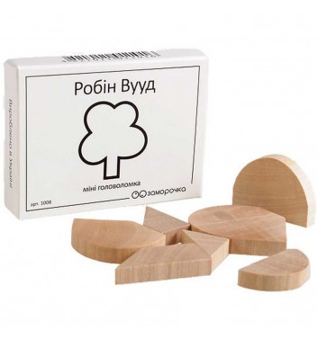 "Mini Puzzle ""Robin Wood"""
