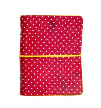 Business card holder Red in a stomp
