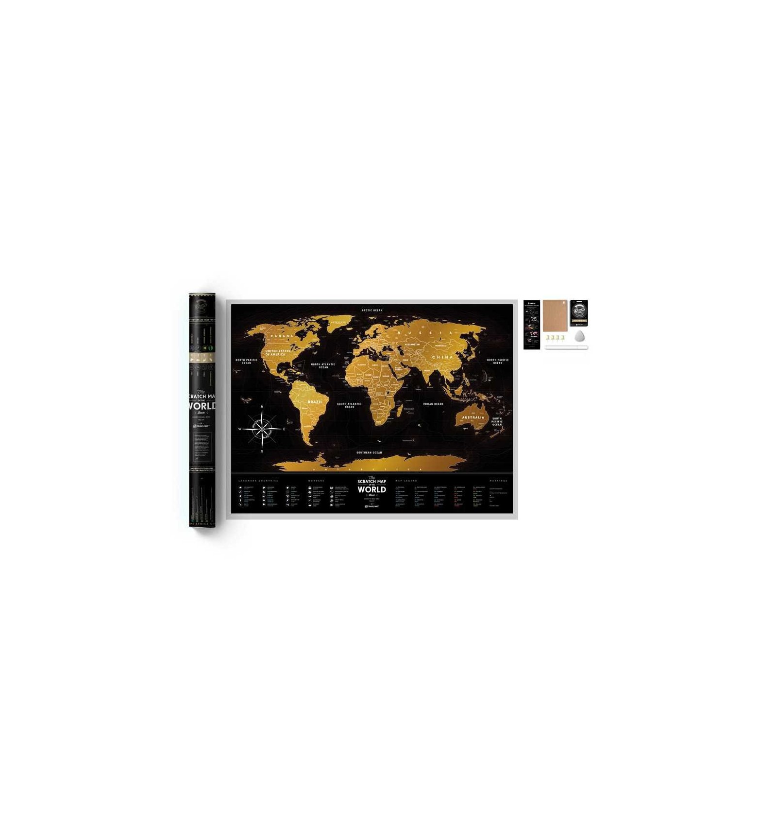 Scratch world map travel map black world 1dea in kiev gift shop scratch world map travel map black world loading zoom gumiabroncs