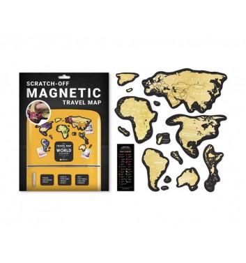 Скретч карта мира 1dea.me Travel Map magnetic World