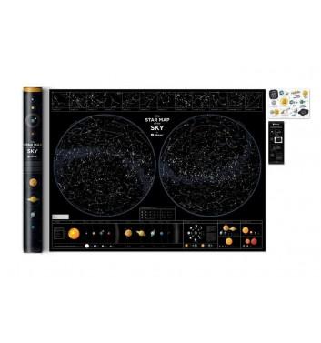 """Карта зоряного неба """"Star map of the sky"""""""