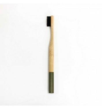 Bamboo toothbrush Khaki