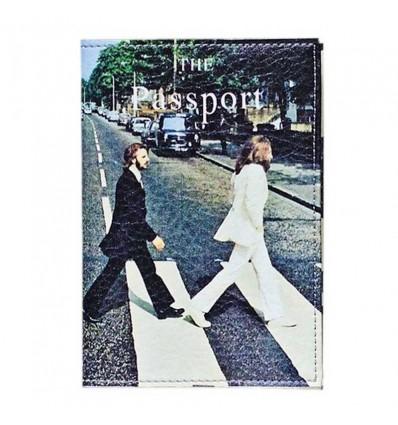 "Обложка на паспорт ""Beatles"""