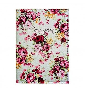 "Passport cover ""Flowers"""