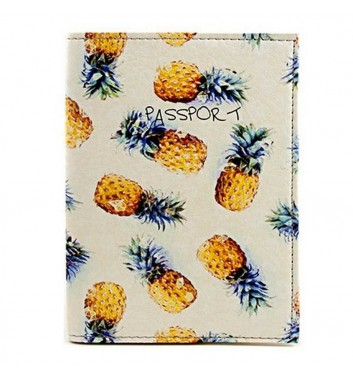 "Passport cover ""Pineapple"""