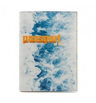 "Обложка на паспорт ""Waves"""