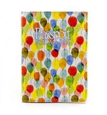 "Passport cover ""Balloons"""