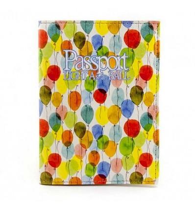 "Обложка на паспорт ""Balloons"""