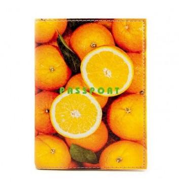 """Passport cover """"Orange"""""""