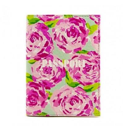 """Обложка на паспорт """"Rose"""""""