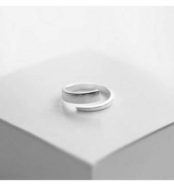 """Ring """"Ragged spiral"""""""