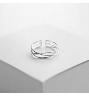 Каблучка Argent jewellery Tangled line