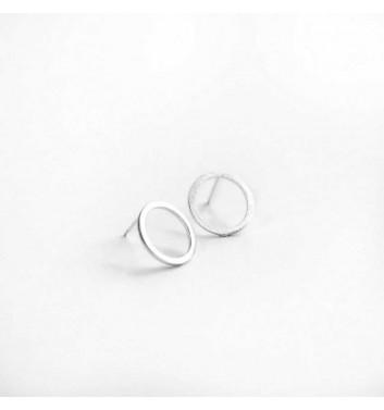 "Earrings ""Empty circles"""