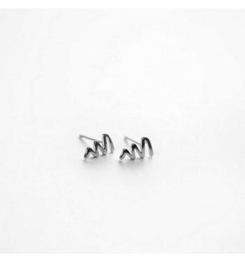 Сережки Argent jewellery Curve line