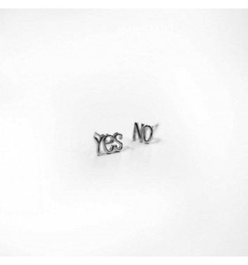 "Серьги ""Yes No"""