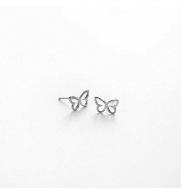 "Earrings ""Butterflies empty"""