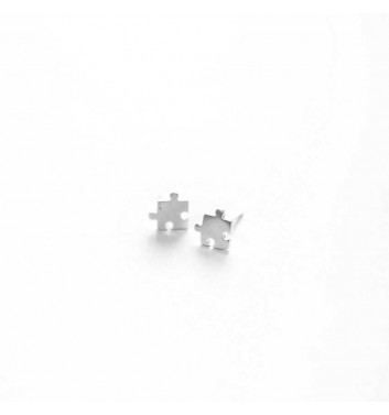 "Earrings ""Puzzle"""